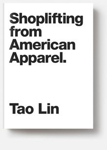 <cite>Shoplifting from American Apparel</cite> by Tao Lin