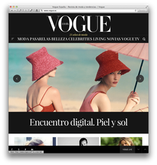 Vogue España website