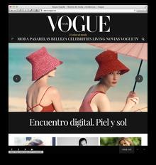 Vogue España website
