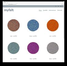 <cite>myfelt</cite> Website
