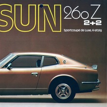 Datsun Germany Brochures: 280Z & 1200