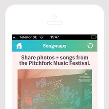 2013 Pitchfork Music Festival App