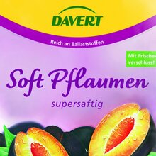 Davert dried fruit packaging