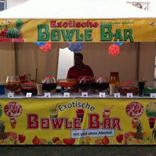 Exotische Bowle Bar