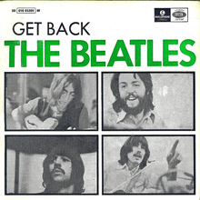 <cite>Get Back</cite> EP by The Beatles, Portugal 1973