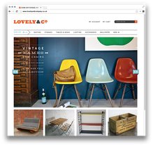 Lovely & Company Website