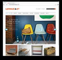 Lovely & Company Website