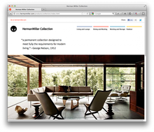 Herman Miller Website