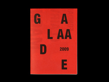 Éditions Galaade book fair brochure