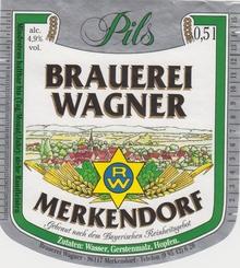 Brauerei Wagner Merkendorf, Pils