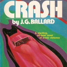 <cite>Crash</cite> by J.G. Ballard (Pinnacle Edition, 1974)
