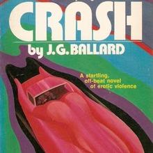 <cite>Crash</cite> by J.G. Ballard (Pinnacle Edition, 1974)