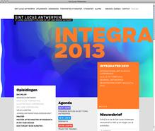 Sint Lucas Antwerpen Website