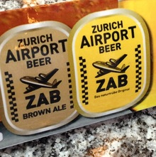 Zurich Airport Beer