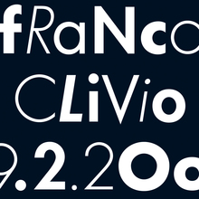 Franco Clivio Lecture Poster
