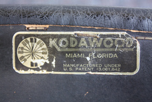 Kodawood Furniture Label