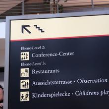 Hamburg Airport Signage