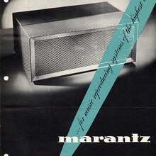 Marantz Amplifiers and Preamplifiers (1950s)