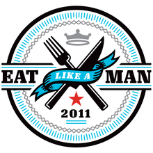 "Illustration for <cite>Esquire</cite>, March 2011: ""Eat Like A Man"""