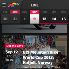 Red Bull TV Mobile App
