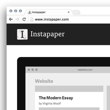 Instapaper Website (2013 Redesign)