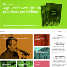 VŠVU Website