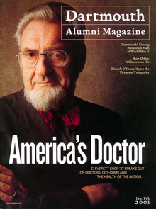 <cite>Dartmouth Alumni Magazine</cite>, Jan/Feb 2001