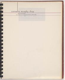 Cornelia Murphy Shop letterhead