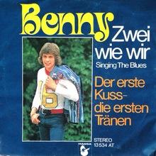 <cite>Zwei wie wir / Der erste Kuss – die ersten Tränen</cite> by Benny