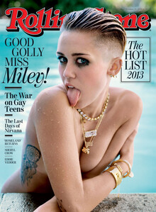 <cite>Rolling Stone</cite>, September 2013, Miley Cyrus Cover