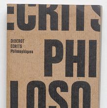 <cite>Ecrits Philosophiques</cite> book cover
