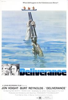 <cite>Deliverance</cite> (1972) movie posters