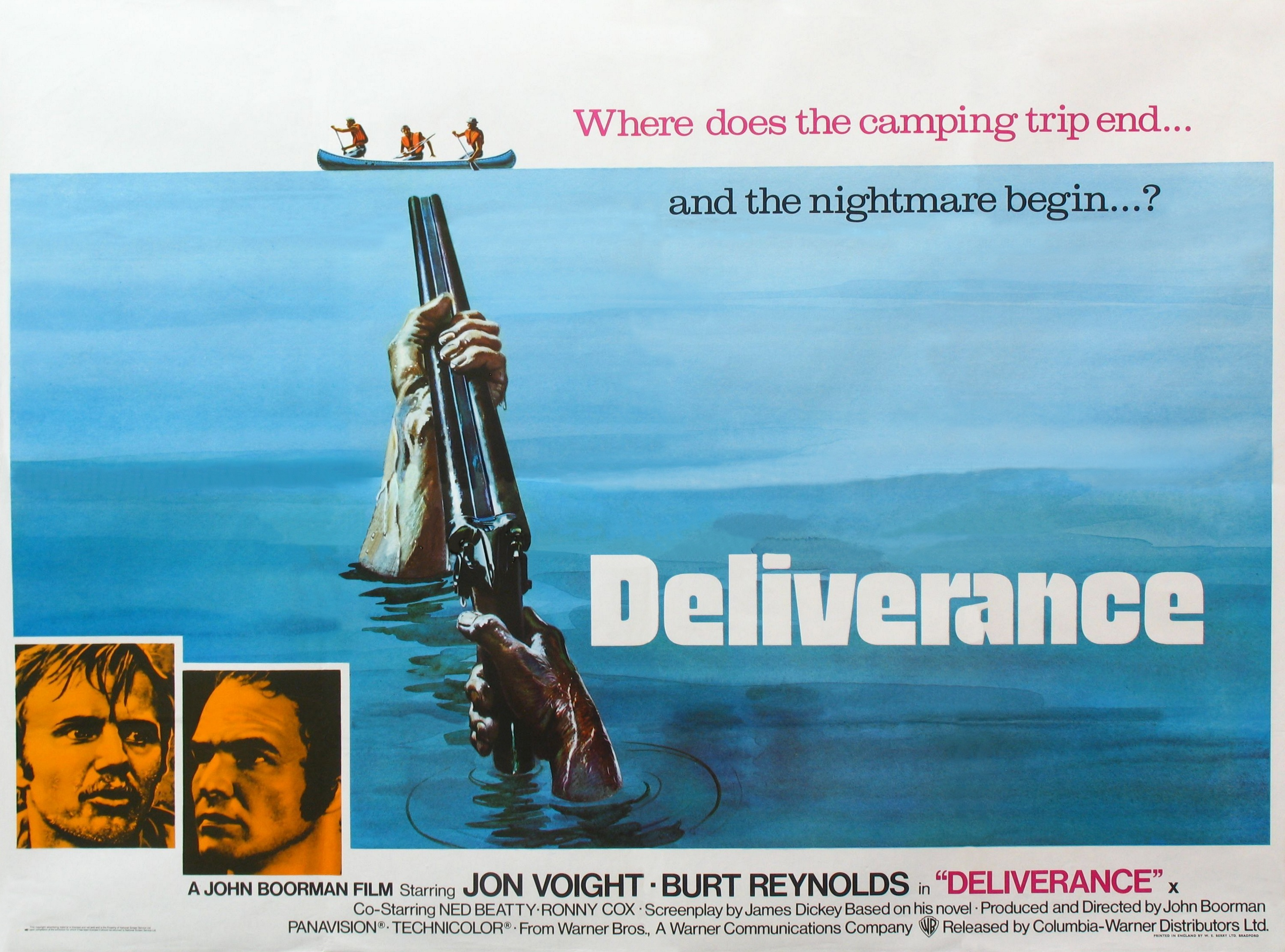theme analysis in the deliverance by james dickey In the last analysis, none of that matters deliverance also happens to be the most stunning piece of moviemaking james dickey's novel has a.