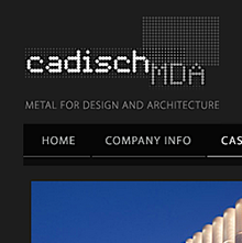 Cadisch MDA and GIGB logos