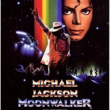 <cite>Moonwalker</cite> (1988) Movie Poster