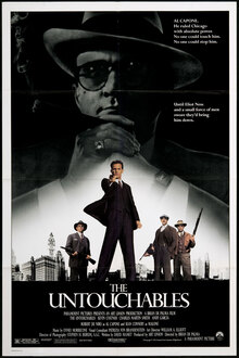 <cite>The Untouchables</cite> (1987) Movie Poster