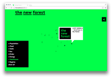 <cite>The New Forest</cite> Website