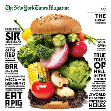 <cite>The New York Times Magazine</cite>, 2013 Food & Drink Issue