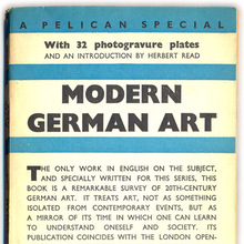 "<cite>Modern German Art</cite> by ""Peter Thoene"""