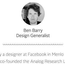 Ben Barry Design Portfolio