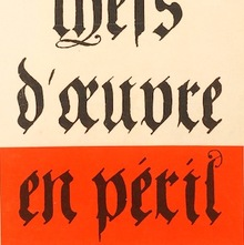 <cite>Guide des chefs d'œuvre en péril</cite> by Pierre de Lagarde, 1967 Jean-Jacques Pauvert Edition