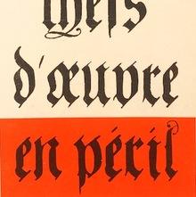 <cite>Guide des chefs d'œuvre en péril</cite> by Pierre de Lagarde, 1967 Jean-Jacques Pauvert Edition