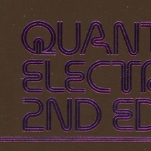 <cite>Quantum Electronics</cite>, 2nd Edition