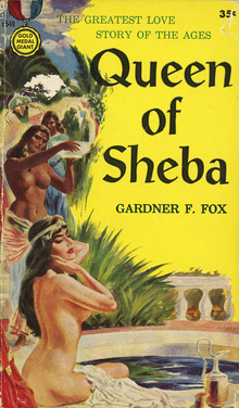 <cite>Queen of Sheba</cite>, Gold Medal Books