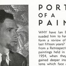 """<cite>The Art of Ian Bow:</cite> """"Portrait of a Painter"""""""