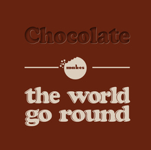 <cite>Chocolate makes the world go round</cite>