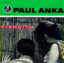 <cite>Verboten</cite> by Paul Anka (Original Soundtrack EP, 1959)