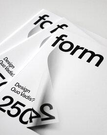<cite>form</cite> Magazine, 2013 Redesign