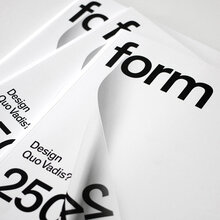 <cite>form</cite> Magazine, 2013 Redesign