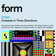 <cite>form</cite> Magazine Website